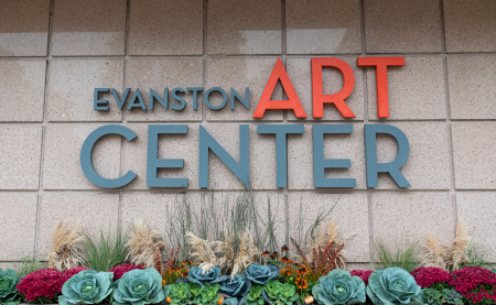 Facade of the Evanston Art Center